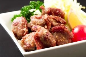 【冷凍/揚げ調理済】レンジでチン!砂肝からあげ (約300g/15~22個)